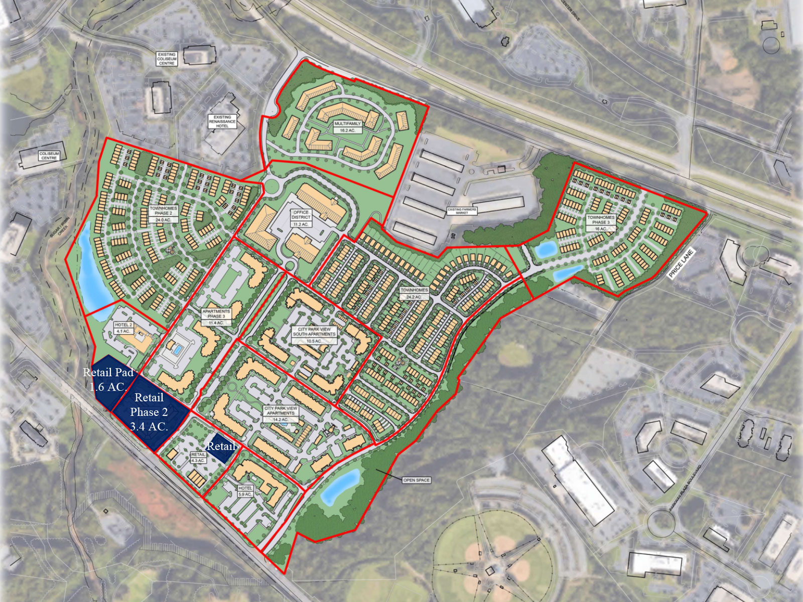City Park Retail Phase 2 Site Plan